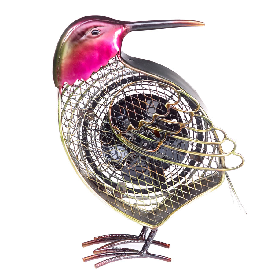 hummingbird decorative bird fan - Decorative Fans